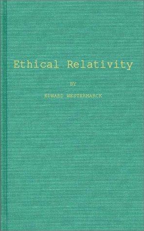 Ethical relativity