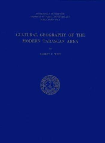 Cultural geography of the modern Tarascan area