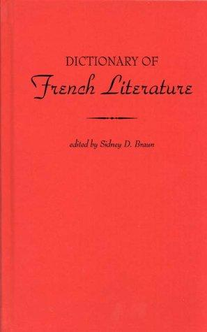 Dictionary of French literature