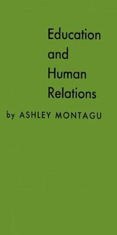 Education and human relations.