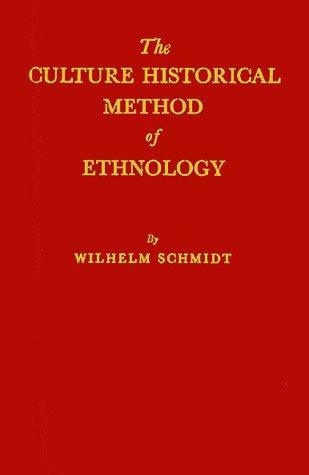 Download The culture historical method of ethnology