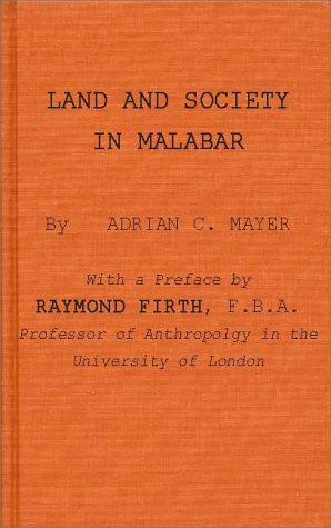 Download Land and society in Malabar