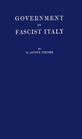 Download Government in Fascist Italy