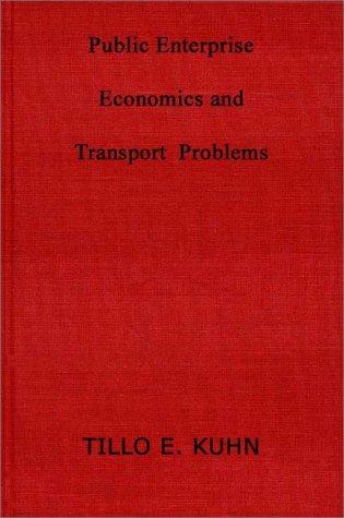 Public enterprise economics and transport problems