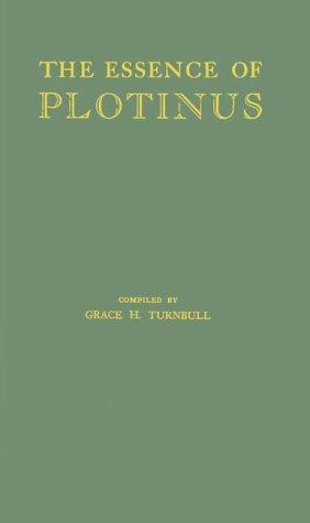 Download The Essence of Plotinus