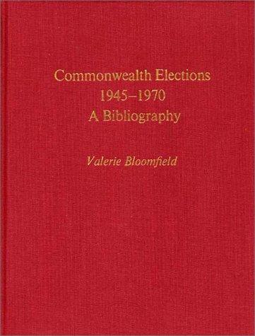Commonwealth elections, 1945-1970