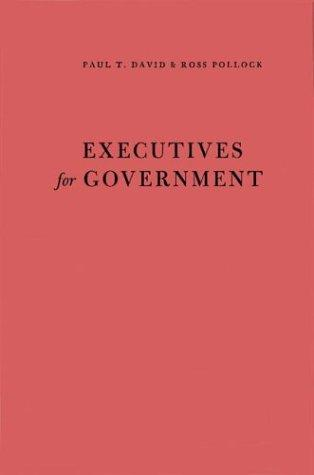 Download Executives for government