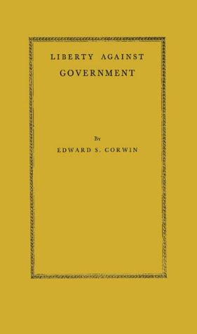 Download Liberty Against Government