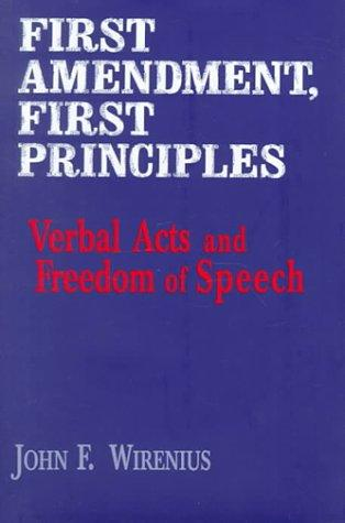 Download First Amendment, First Principles