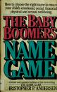 Cover of: The baby boomer's name game