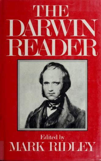 The  Darwin reader by Charles Darwin