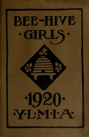 Hand Book for the Bee-Hive Girls (1920)