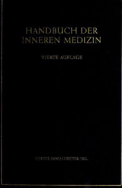 Handbuch der inneren Medizin by Leo Mohr, Rudolf Staehelin