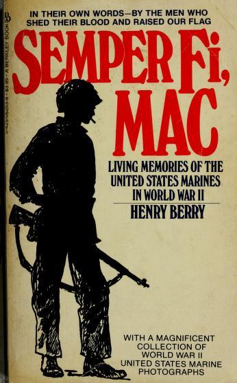 Cover of: Semper Fi Mac   Henry Berry