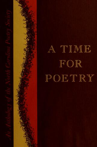 Cover of: A time for poetry | North Carolina Poetry Society.