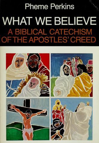 Cover of: What We Believe | Pheme Perkins
