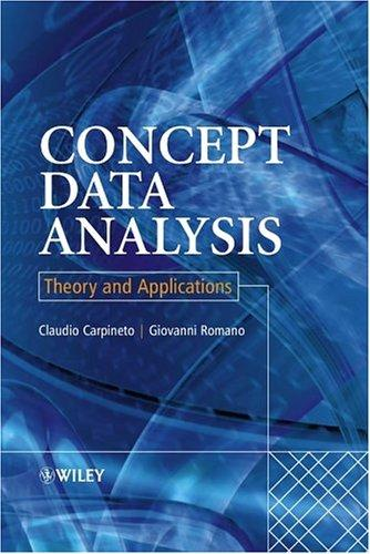 Concept data analysis by