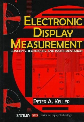 Electronic display measurement by Peter A. Keller