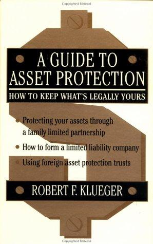 A guide to asset protection