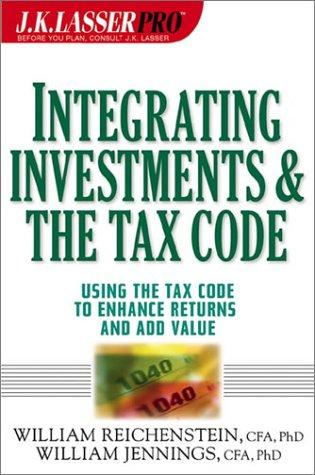 Image 0 of Integrating Investments and the Tax Code