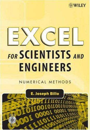 Excel for Scientists and Engineers by E. Joseph Billo