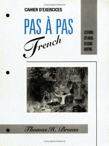 PAS À PAS FRENCH