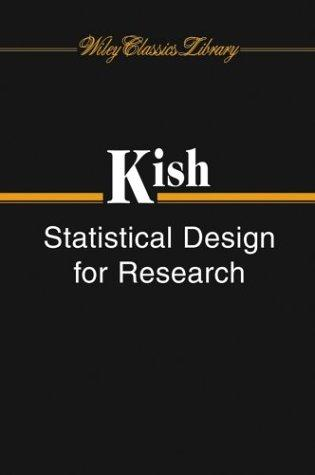 Statistical design for research