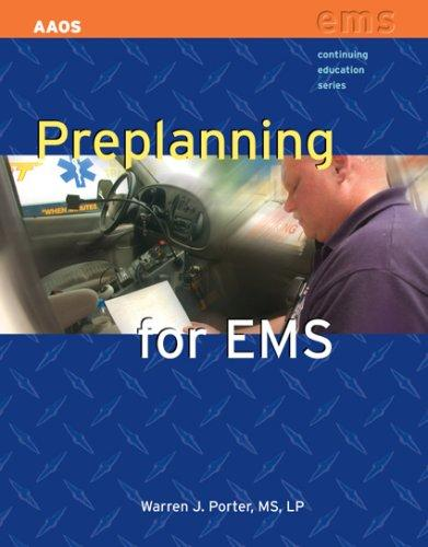 Preplanning for EMS Aaos