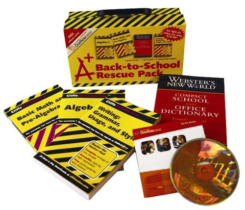 A+ Back-to-School Rescue Pack by John Wiley & Sons Inc