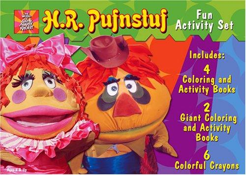 H.R. Pufnstuf Activity Book Box Set by Modern Publishing