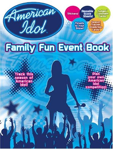 American Idol Family Fun Event Book by Modern Publishing