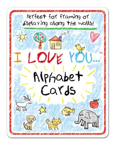 I Love You Wall Art Giant Flash Cards (I Love You!) by Modern Publishing