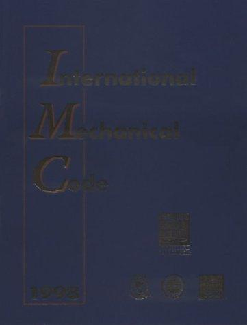 1998 International Mechanical Code by Boca