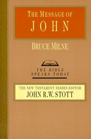 Message of John (BST) by Milne, Bruce