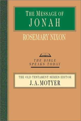 Message of Jonah (BST) by Nixon, Rosemary