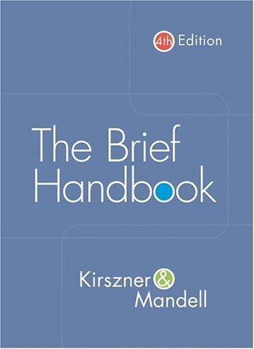 The brief handbook
