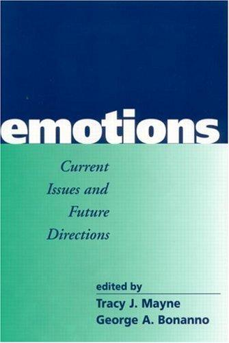 Image 0 of Emotions: Current Issues and Future Directions (Emotions and Social Behavior)