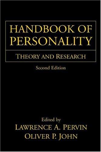Image 0 of Handbook of Personality: Theory and Research, Second Edition