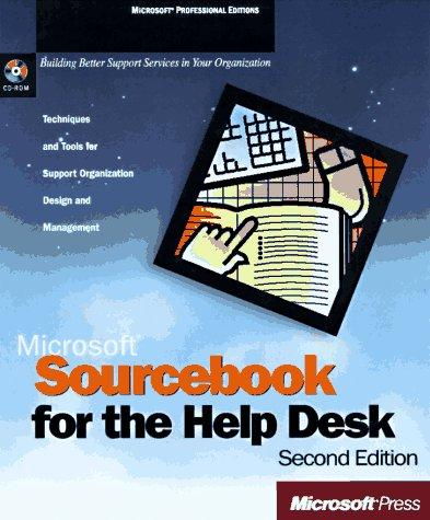Microsoft Sourcebook for the Help Desk by Corporation Microsoft