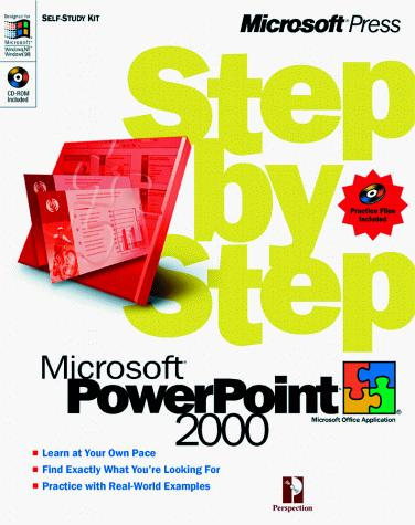 Microsoft  PowerPoint 2000 Step by Step by Perspection Inc.
