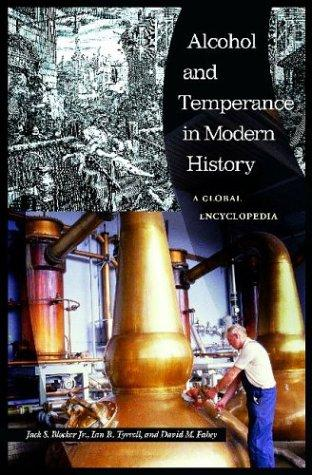 Alcohol and temperance in modern history by