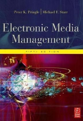 Electronic media management by