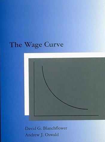 The wage curve by David G. Blanchflower