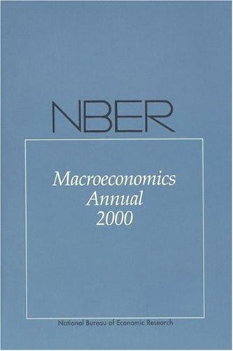 NBER Macroeconomics Annual 2000