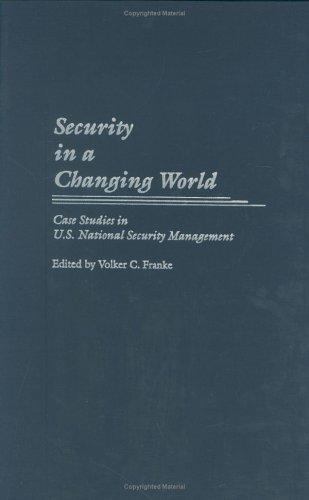 Security in a Changing World