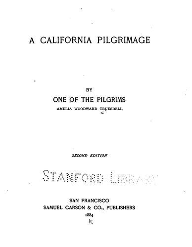 A California pilgrimage