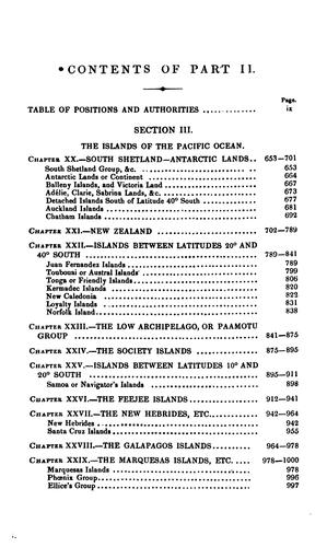 A directory for the navigation of the Pacific Ocean by Alexander George Findlay
