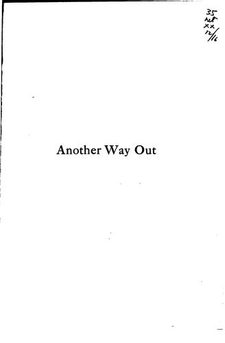 Another way out by Lawrence Langner