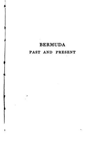 Bermuda past and present