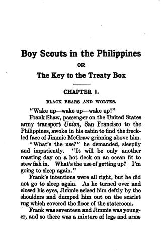 Boy scouts in the Philippines by G Harvey Ralphson